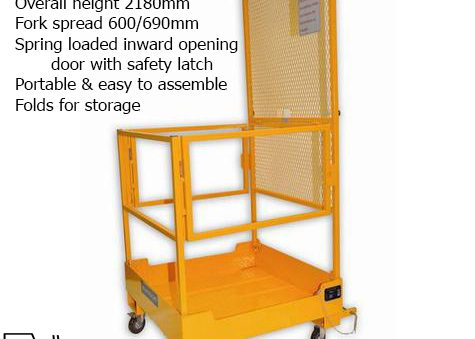 Forklift Man-Up cage
