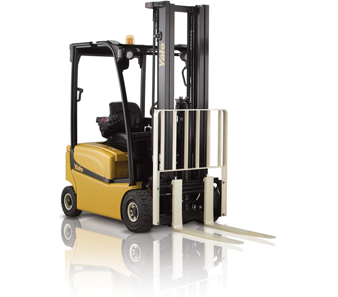 Electric forklift trucks available to hire