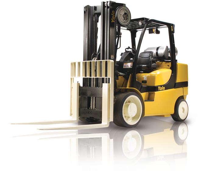 Compact 6000/7000kgs LPG/Diesel forklift trucks available to hire
